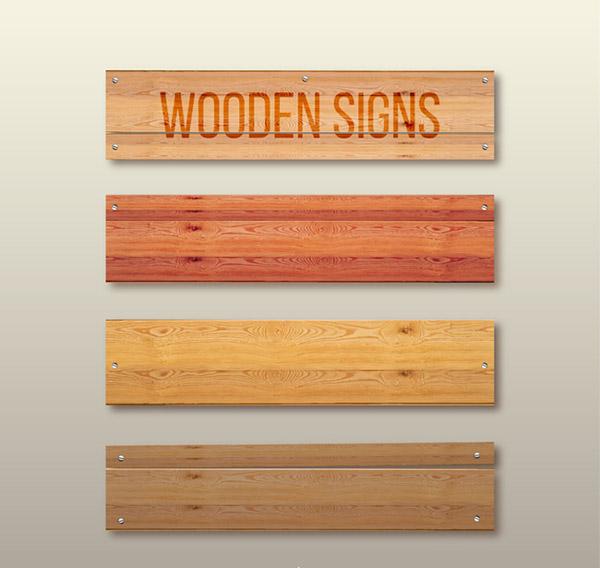 创意木板公告栏