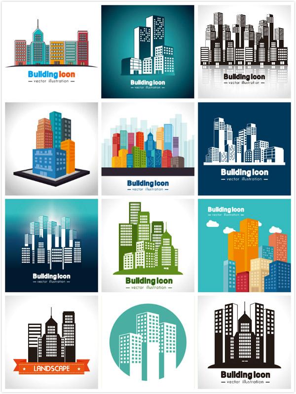 宏伟的城市建筑