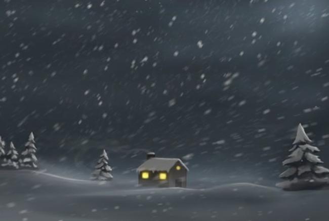 雪夜雪花笔刷免费下载