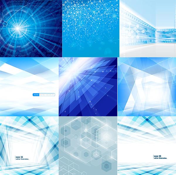 科技蓝色背景