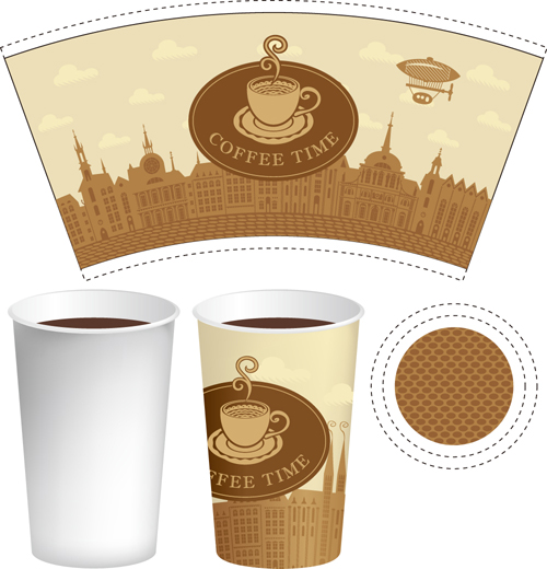 纸质杯子包装