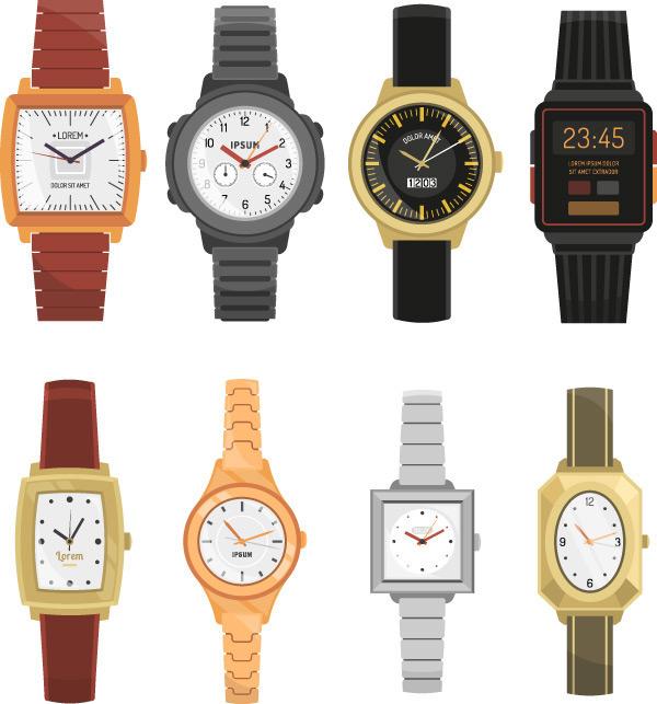 多款手表矢量