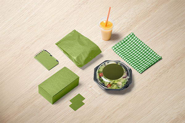 快餐包装样机