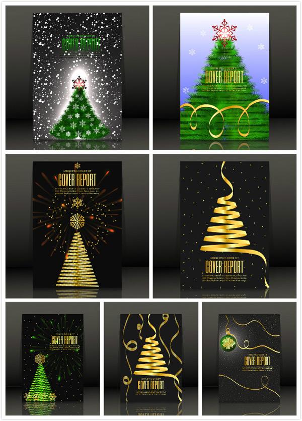 圣诞节海报矢量