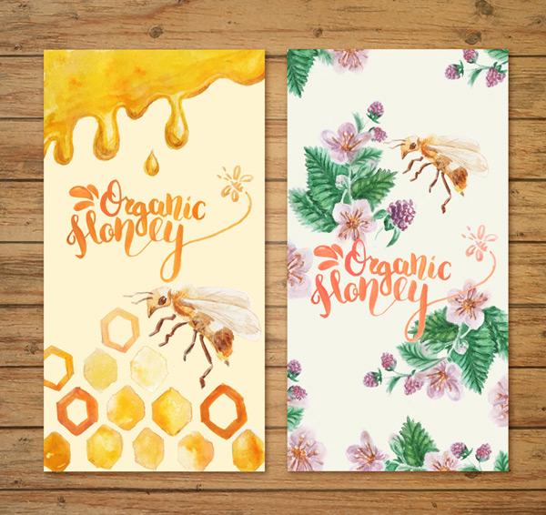 彩绘蜜蜂banner